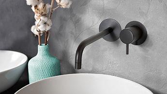 Zwarte Kraan Badkamer : Pin by sanitairkiezer on zwarte kranen voor keuken en wastafel