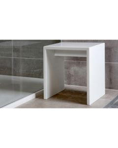Solid Surface Cubic bankje